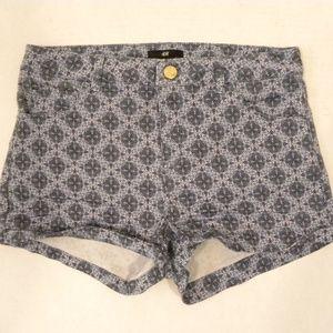 H&M Denim Shorts Women's Size 6 Blue